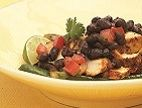 Chicken with Black Bean-Chipotle Sauce - Canyon Ranch