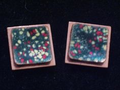 Vintage MATISSE Copper Enamel Modernist Layered by TheCopperCat, $25.00