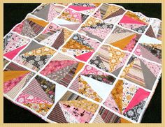 Refracted Quilt Tutorial by Happy Quilting | U Create
