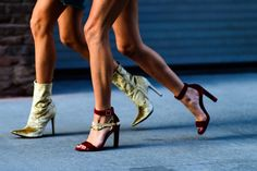 The Best Street Style at New York Fashion Week - {Velvet Shoes}