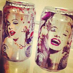 Marilyn Monroe Cans