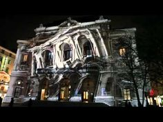 3D projection mapping on building