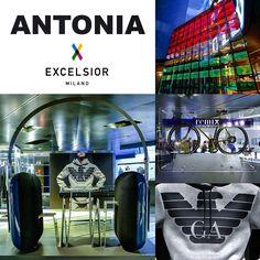 The New Collection of @armani by @excelsiormilano 📱🛍🚲👕👟 #newcapsule #collection #RemixEmporioArmani @armani @giorgioarmani001 #fashion #boutique @antoniamilano @excelsiormilano #logo #griffe #Eagle #bicycle #sportswear #sports_shoes #headphones #display #interiordesign #interior #visualmerchandising #visual #AntoniaExcelsior #moda #man #ilovephoto #iphone6 #fashionaddict #photoaddict #socialnetwork #pinterest #swarm #tumblr #twitter #mypageispublic #followers #followme #kiss #good #like