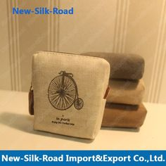 Free Shipping New ZAKKA vintage dream paris Portable Wallet/key holder/fabric coin bag/small Purses on AliExpress.com. $16.90