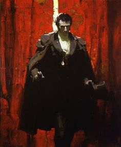 Le Comte de Monte-Cristo (painting by Mead Schaeffer) is perhaps one of the most beautifully redemptive stories I've ever read, and this picture captures all the power, energy, and determination of the Count. Love it!!!