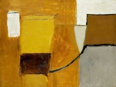 Roger Hilton was a British abstract expressionist painter of German extraction. My favorites are his yellow, brown and black works. Abstract Landscape, Abstract Art, Abstract Paintings, Tate St Ives, Art Uk, Your Paintings, American Artists, Abstract Expressionism, New Art
