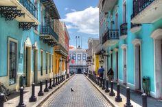 Calle Fortaleza, Old San Juan - Puerto Rico