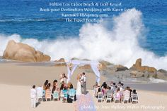 This beautiful destination wedding took place at Hilton Los Cabos Beach & Golf Resort. Contact me to set up your Destination Wedding. Karen@TTBAgency.com https://www.facebook.com/UniqueTravelByKaren
