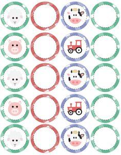 printable Second Birthday Ideas, Ferdinand, Animal Party, Decorative Plates, Images, Printables, Baby, Kids, Animals