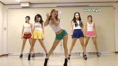 PSY싸이 - GANGNAM STYLE (강남스타일) Waveya 웨이브야 Korean dance team, via YouTube.
