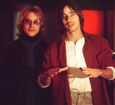 Warren Zevon and Jackson Browne