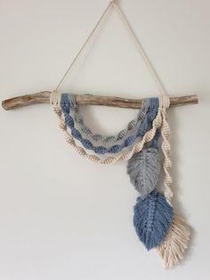 Macrame Hanging Chair, Macrame Plant Hangers, Macrame Art, Macrame Projects, Macrame Design, Macrame Headband, Yarn Wall Art, Crochet Hammock, Baby Mobile
