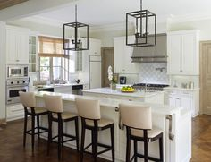 Laura Lee Clark Interior Design. I'd love to blow out the wall between my kitchen and dining room... open, bright, welcoming!