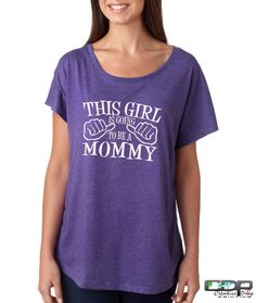 Expecting Mom Shirt- This Girl Is Going To Be A Mommy Womens Dolman Style Tshirt S-2XL Fast Shipping TNL676000293