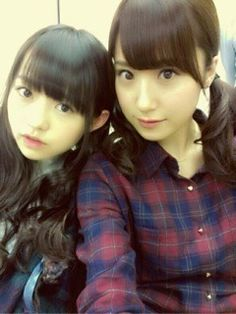 乃木坂46 (nogizaka46) ito marika and eto misa =)