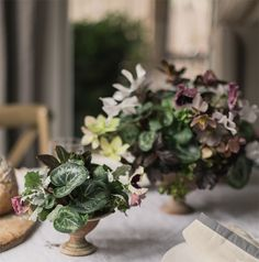 How to Use Potted Plants in Your Wedding | cocktail tables?