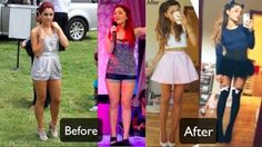 Ariana Grande Shows Off Weight Loss on a Vegan Diet - pudgy and dumpy before; Best Weight Loss Plan, Weight Loss Before, Fast Weight Loss, Healthy Weight Loss, Weight Loss Tips, Healthy Mind, Ariana Grande Weight, Ariana Grande Body, Freelee The Banana Girl