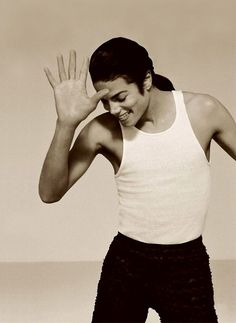 Michael Jackson captured by Herb Ritts.