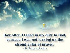 St, Teresa of Avila Catholic Saints, Roman Catholic, St Theresa Of Avila, Emperors New Clothes, Christ The King, Saint Quotes, Faith In Love, Mother Teresa, My Prayer