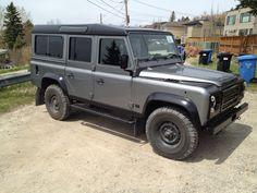 Restored Land Rover Defender 110 LR Imports Http://Www.lr-imports.com