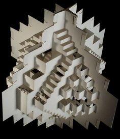 escultura abstrata de papel - Pesquisa Google
