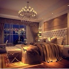 Amazing bedroom with city view!