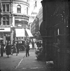 Pageantmaster Court, Ludgate Hill, c. Vintage London, Old London, London City, Uk History, London History, London Pictures, London Photos, London Pride, Tower Bridge London