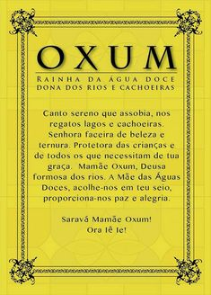 8 de dezembro: Dia de Oxum