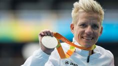 Belgian Paralympian Marieke Vervoort, who suffers from an incurable degenerative…