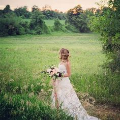 Bride in a field for a romantic feel by Heather Prosser Photography . When it all came together!!!! Lovely Mandy strolling the fields! Thank you for being so natural and beautiful @mandy_sparkleshinylove Beautiful collaborations with @aspenflorist and @pink_lemon_decor for bouquet and dress . Of course, love the country fie Toronto Photography, Image Photography, Pink Lemon, Fields, Bouquet, Flower Girl Dresses, Romantic, Weddings, Bride