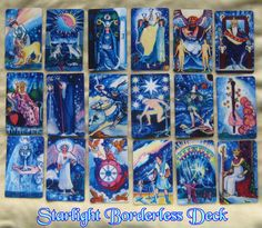 Starlight Illuminated Tarot deck by Carol Herzer