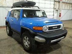 Salvage 2007 Toyota FJ Cruiser Suvs for Sale And Auction   JTEBU11F970001157