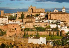 Parte antigua de Cáceres.