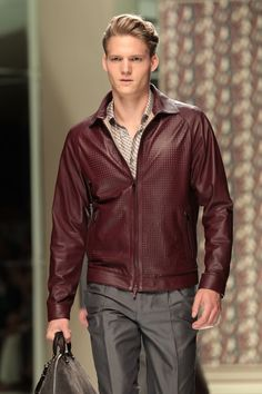 Men's Leather Coats and Jackets for Fall: Z Zegna