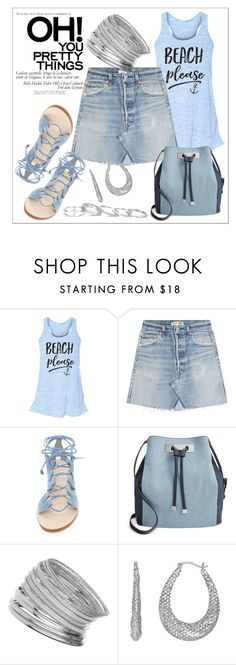 """""""Untitled #253"""" by chanlee-luv ❤ liked on Polyvore featuring RE/DONE, Cornetti, INC International Concepts, Miss Selfridge and Kendra Scott"""