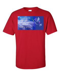 Blessed Is The Peacemaker T-Shirt