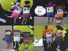 écoliers crochet fil phildar