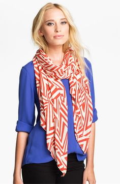 POVERTY FLATS by rian Ikat Scarf available at #Nordstrom