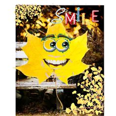 """""""yellow fall smiles"""" by diaparsons on Polyvore"""
