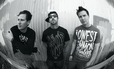 Blink 182. Yupp...Listened to them when it was still on Cassette.