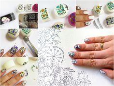 Wszystko o kolorowankach dla dorosłych! Moje ulubione książeczki do kolorowania i tutorial, jak zrobić naklejki-kolorowanki na paznokcie | Cienistość.pl - nailart, lifestyle i inne głupoty