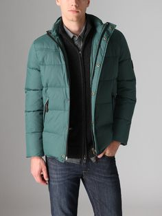 Love the color of this Ecoalf Down Jacket!