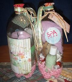 ... in a bottle!!! on Pinterest | Bottle, Gifts and Baby shower favors