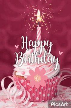 Free Happy Birthday, Happy Birthday Flowers Wishes, Happy Birthday Greetings Friends, Happy Birthday Wishes Images, Happy Birthday Cupcakes, Happy Birthday Celebration, Happy Birthday Candles, Happy Birthday Pictures, Birthday Blessings