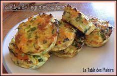 GALETTES DE LÉGUMES AU FOUR - La Table des Plaisirs Guacamole, Zucchini, Steak, Vegetables, Cooking, Healthy, Ethnic Recipes, Food, Tacos