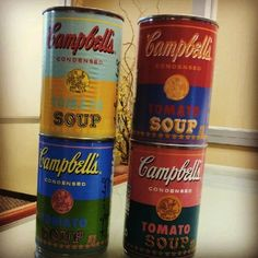 Campbell's Releases Andy Warhol-Inspired Cans - DesignTAXI.com