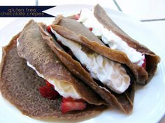 always underfoot: gluten free chocolate crepes