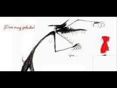 """Vidéo insipirée de l'oeuvre de Marjolaine Leray """"Un petit chaperon rouge"""" et """"Una caperucita roja"""" (en espagnol)."""