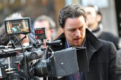 "'Filth'   James McAvoy on the filmset of ""Filth"" in Edinburgh, Scotland on February 15, 2012  ( - Photo by FameFlynet Pictures)"