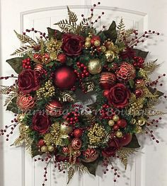 Christmas Wreath Winter Wreath Elegant Christmas Holiday